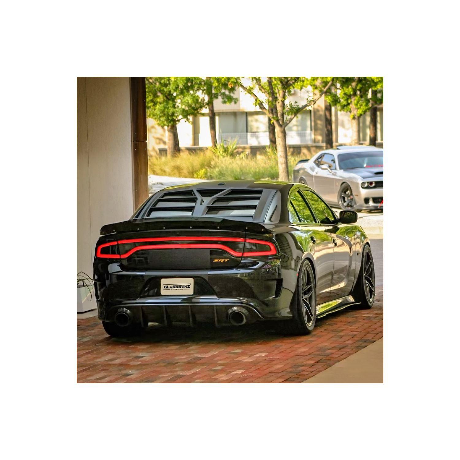 2011-21 Dodge Charger Hellion Rear Window Louver /